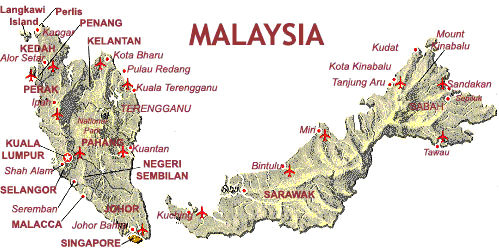 Malaysia, Its Geography & History