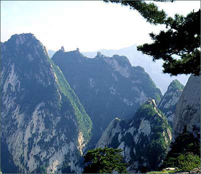 Huashan Mountain-The 5 petal Lotus