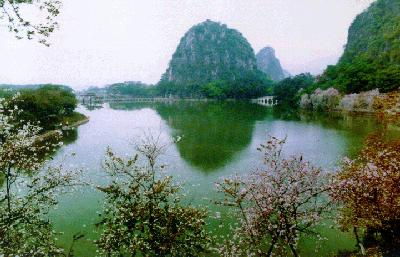 Star Lake in Zhaoqing