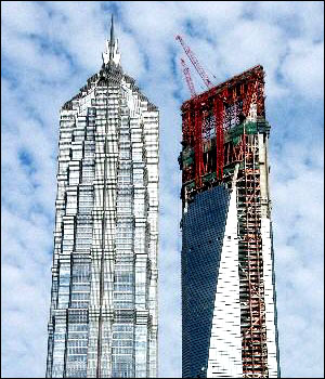Mainland's Tallest Building to Be Finished